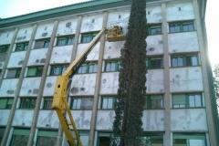 Arreglo de fachadas en universidad de Córdoba