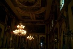Restauración del salón del circulo de la amistad, en Córdoba
